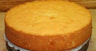 صورة فطارك عندنا ،طريقه عمل الكيكه الاسفنجيه