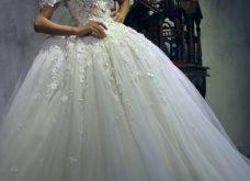 صورة فساتين محتشمة وفي نفس الوقت روعة , فساتين زفاف محجبات
