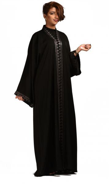 صورة اتالقي بهذه العبايات في رمضان , عباية سعودية 2169 2