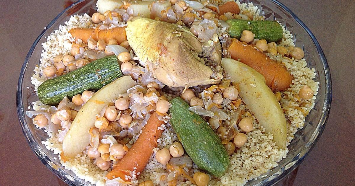 صورة اعملي احلي طبق كسكسي مع الدجاج واليقطين , اطباق رمضانية جزائرية 6319 1