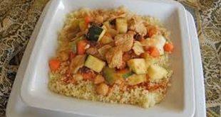 اعملي احلي طبق كسكسي مع الدجاج واليقطين , اطباق رمضانية جزائرية